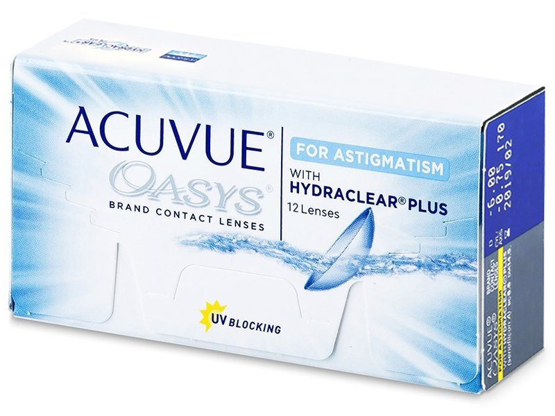 Acuvue Oasys for Astigmatism (12 lenses)