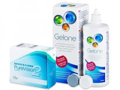 PureVision 2 (6lenses) +GeloneSolution 360ml