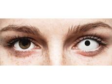 White WhiteOut contact lenses - power - ColourVue Crazy (2 coloured lenses)