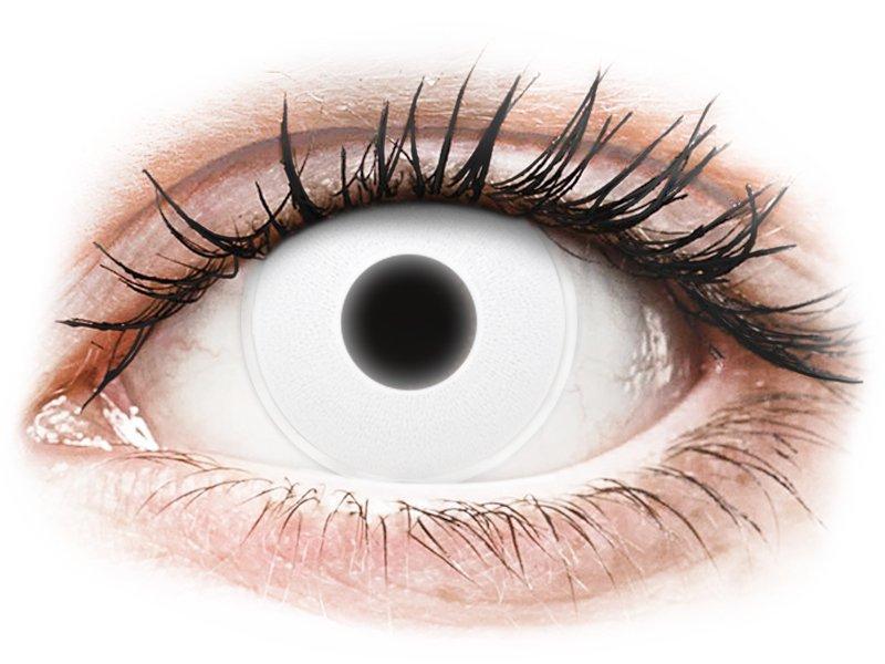 White Glow contact lenses - ColourVue Crazy (2 coloured lenses)