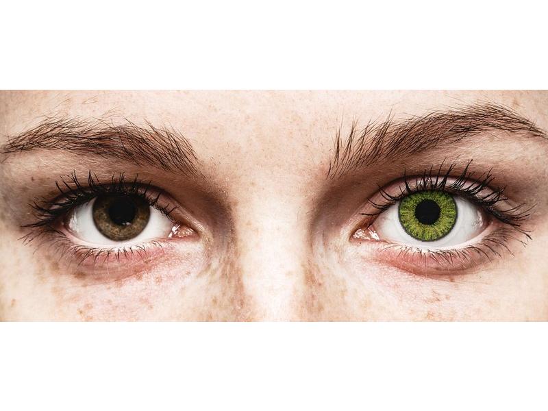 Fresh Green contact lenses - power - TopVue Color (10 daily coloured lenses)