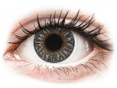 Grey contact lenses - power - TopVue Color (2 monthly coloured lenses)