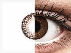 Brown contact lenses - TopVue Color (2 monthly coloured lenses)