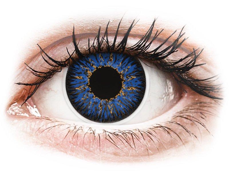 Blue Glamour contact lenses - ColourVue (2 coloured lenses)