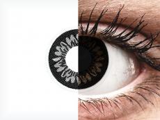 Dolly Black contact lenses - power - ColourVue BigEyes (2 coloured lenses)
