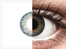 Blue 3 Tones contact lenses - power - ColourVue (2 coloured lenses)
