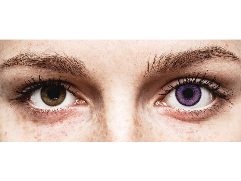 Purple Indigo contact lenses - SofLens Natural Colors (2 monthly coloured lenses)