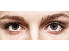 Purple Amethyst contact lenses - FreshLook ColorBlends - Power (2 monthly coloured lenses)