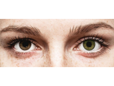 Green contact lenses - FreshLook ColorBlends (2 monthly coloured lenses)