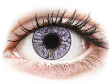 Violet contact lenses - FreshLook Colors (2 monthly coloured lenses)