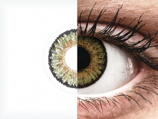 Pure Hazel contact lenses - FreshLook One Day Color - Power (10 daily coloured lenses)