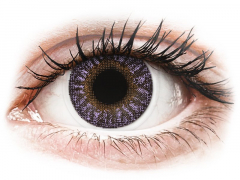 Violet contact lenses - TopVue Color (2 monthly coloured lenses)