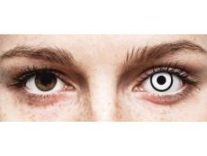 White Zombie contact lenses - ColourVue Crazy (2 daily coloured lenses)
