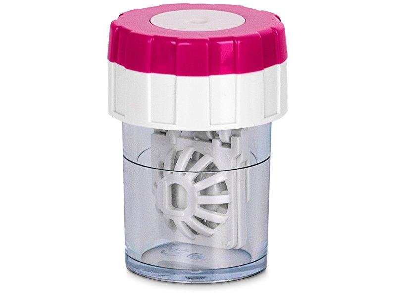 Lens Case Twist Top - Pink