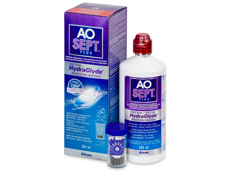 AO SEPT PLUS HydraGlyde Solution 360ml