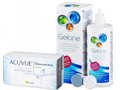 Acuvue Oasys (24 lenses) + Gelone Solution 360 ml