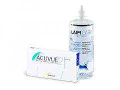 Acuvue 2 (6 lenses) + Laim-Care Solution 400 ml