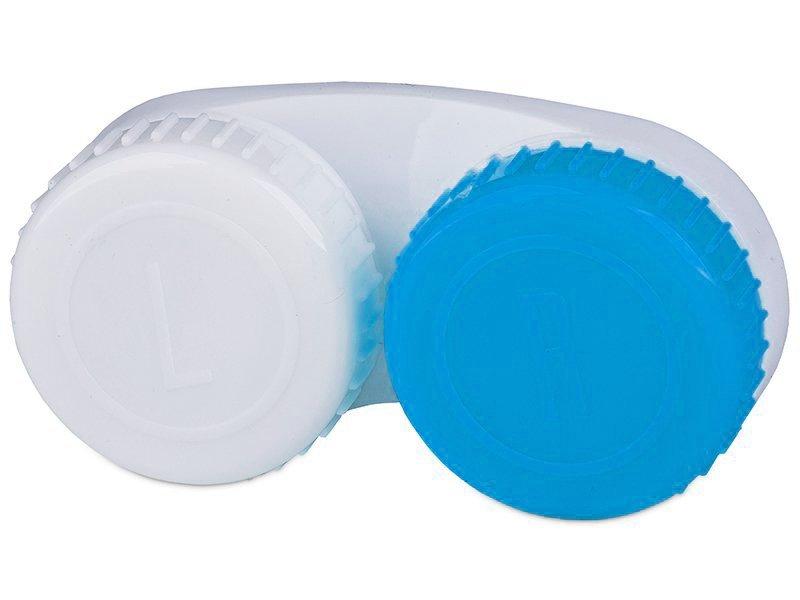 Lens Case blue & white L+R