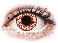 Blood Shot contact lenses - ColourVue Crazy (2 daily coloured lenses)