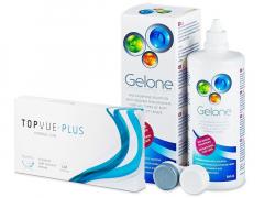 TopVue Monthly Plus (6 lenses) +GeloneSolution360ml