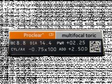 Proclear Multifocal Toric (3lenses)