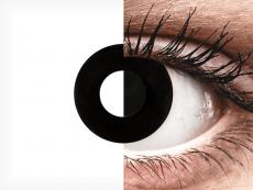 CRAZY LENS - Black Out - power (2 daily coloured lenses)