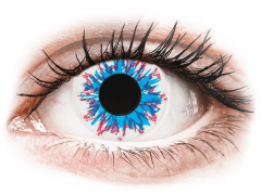 CRAZY LENS - Harlequin - plano (2 daily coloured lenses)