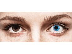 CRAZY LENS - Harlequin - power (2 daily coloured lenses)