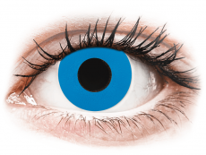 CRAZY LENS - Sky Blue - plano (2 daily coloured lenses)