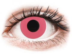 CRAZY LENS - Solid Rose - plano (2 daily coloured lenses)