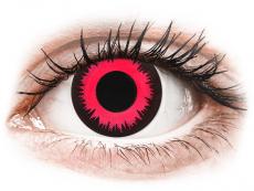 CRAZY LENS - Vampire Queen - power (2 daily coloured lenses)