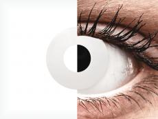 CRAZY LENS - WhiteOut - plano (2 daily coloured lenses)