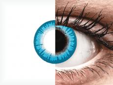 CRAZY LENS - White Walker - plano (2 daily coloured lenses)