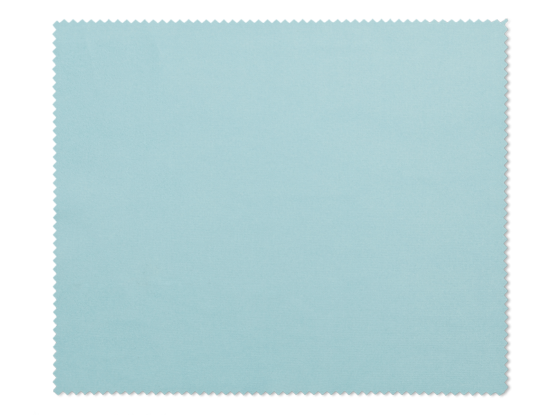 Cleaning cloth for glasses - light blue