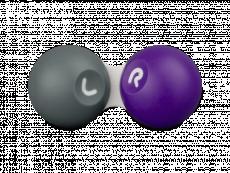 Contact lens case - Grey & purple