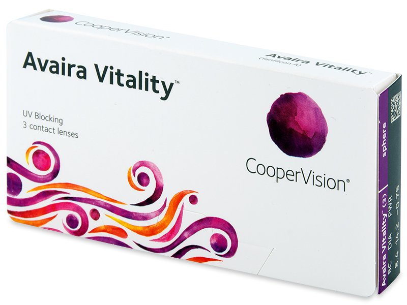 Avaira Vitality (3 lenses)