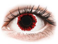 ColourVUE Crazy Lens - Blaze - plano (2 lenses)