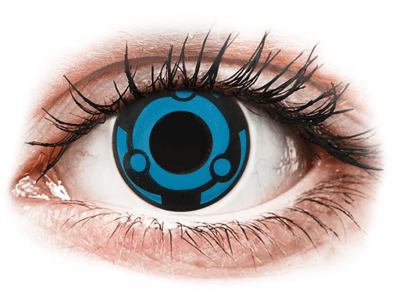 CRAZY LENS - Vision - plano (2 daily coloured lenses)