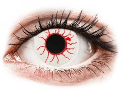CRAZY LENS - Red Viper - plano (2 daily coloured lenses)