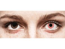 CRAZY LENS - Red Wedding - plano (2 daily coloured lenses)