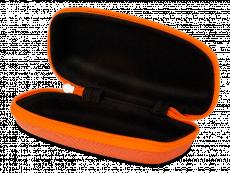 Zip up glasses case for kids - orange