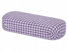 Glasses case - Rooster purple & white