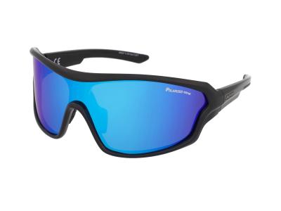 Alpina Lyron S Cool Grey Matt Black/Blue Mirror