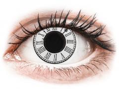 CRAZY LENS - Clock - plano (2 daily coloured lenses)